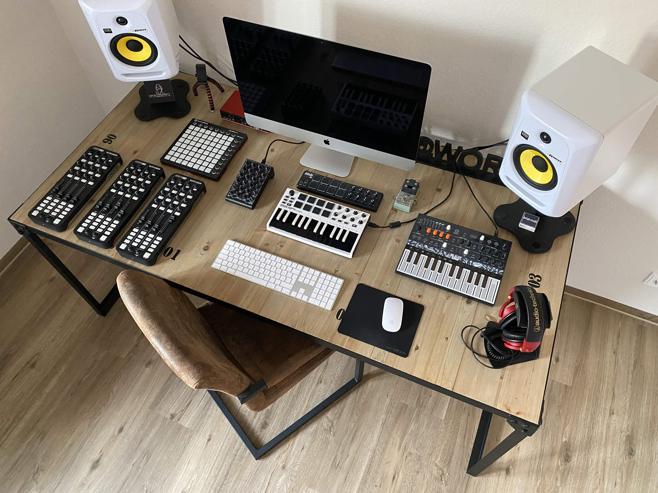 Music Studio Setup by Nadine in Kiel, Germany