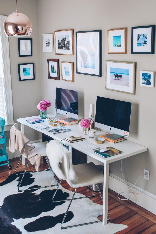 Jess Ann Kirby & Craig Mackay's dual home office
