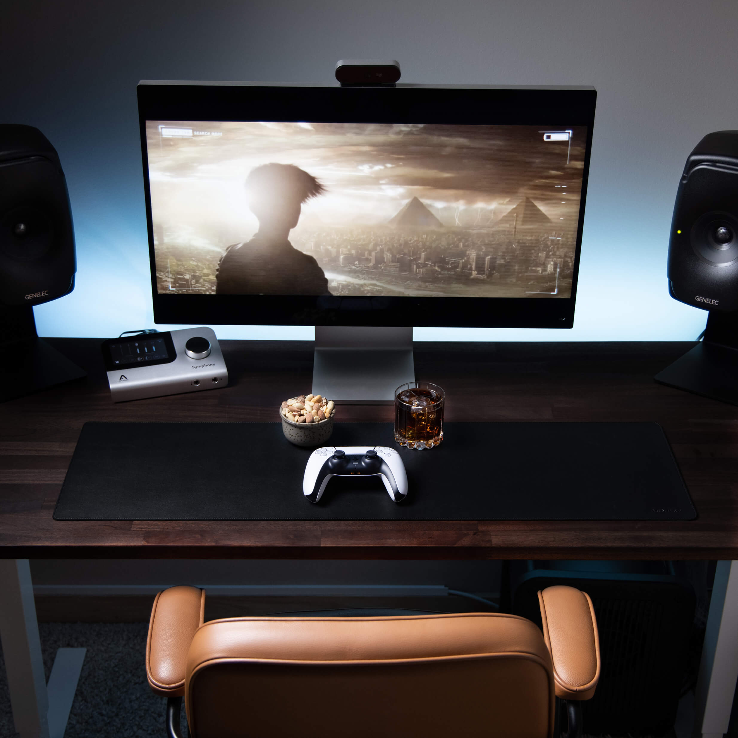 Apple 32-inch Retina 6K XDR display is David's second favourite thing about his setup