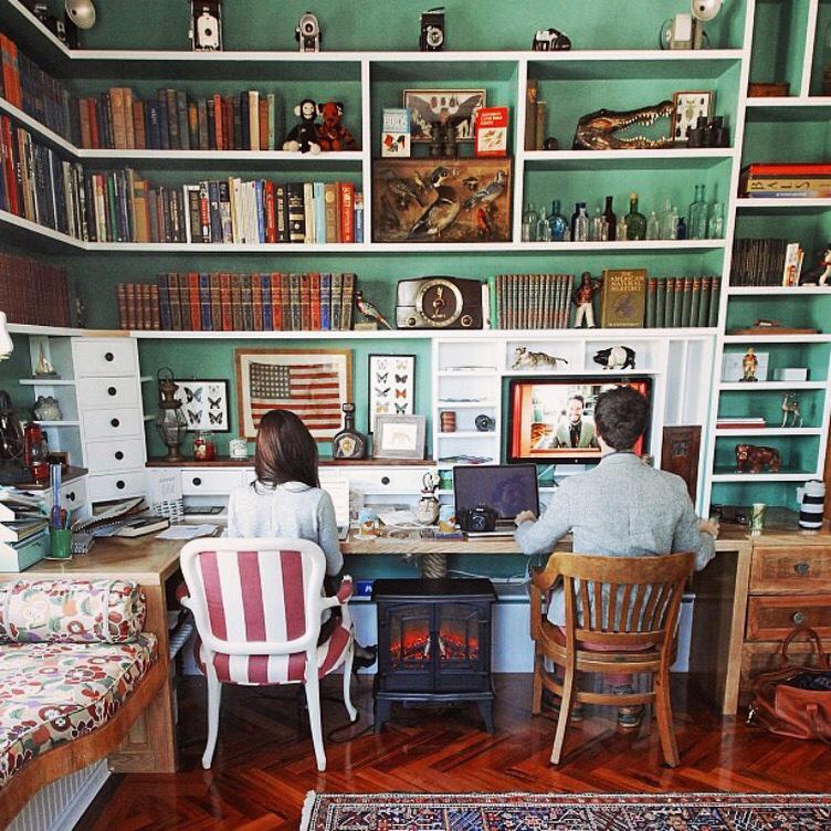 Kiel James Patrick's home office for two