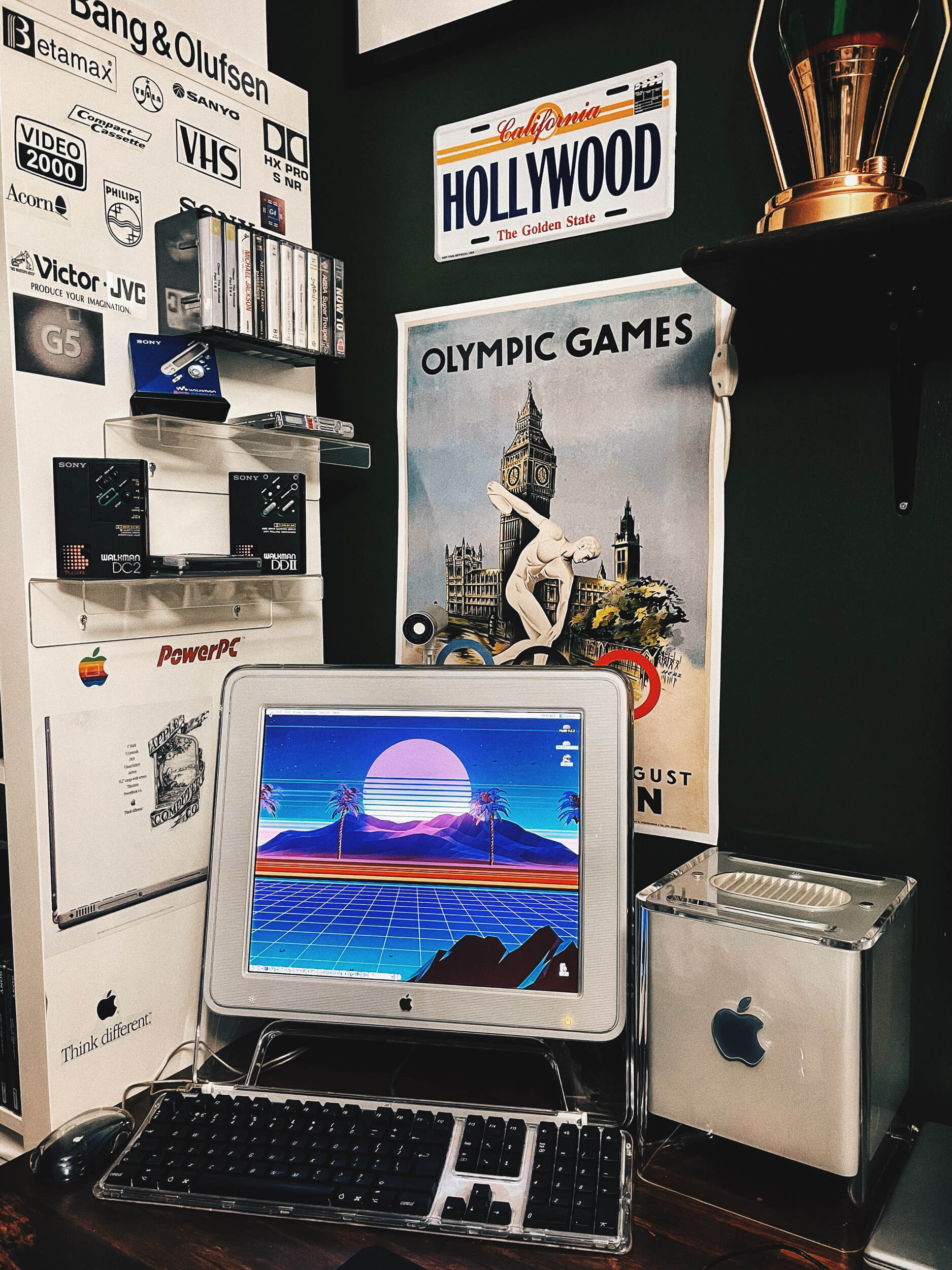 The Power Mac G4 Cube was Apple's attempt to miniaturise a powerful desktop computer into a cube with a side of less than 20 cm (8″)