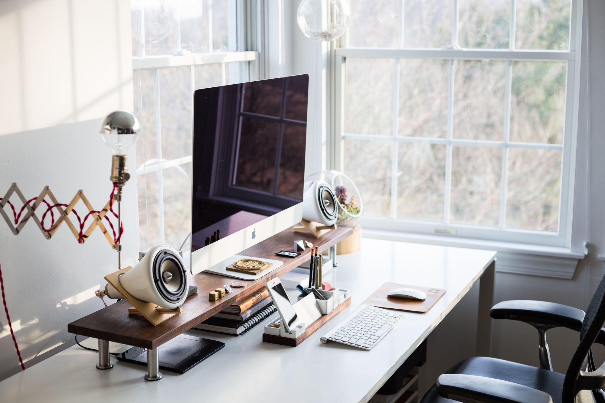 An ergonomic home workstation