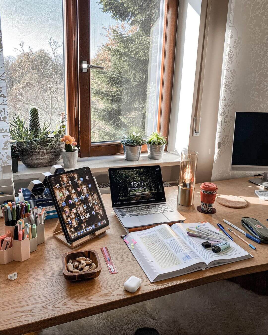 Study room in Germany