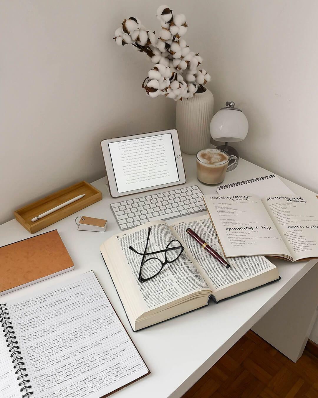 Liv's daily routine involves a lot of reading, so she plans it like any other work-related task