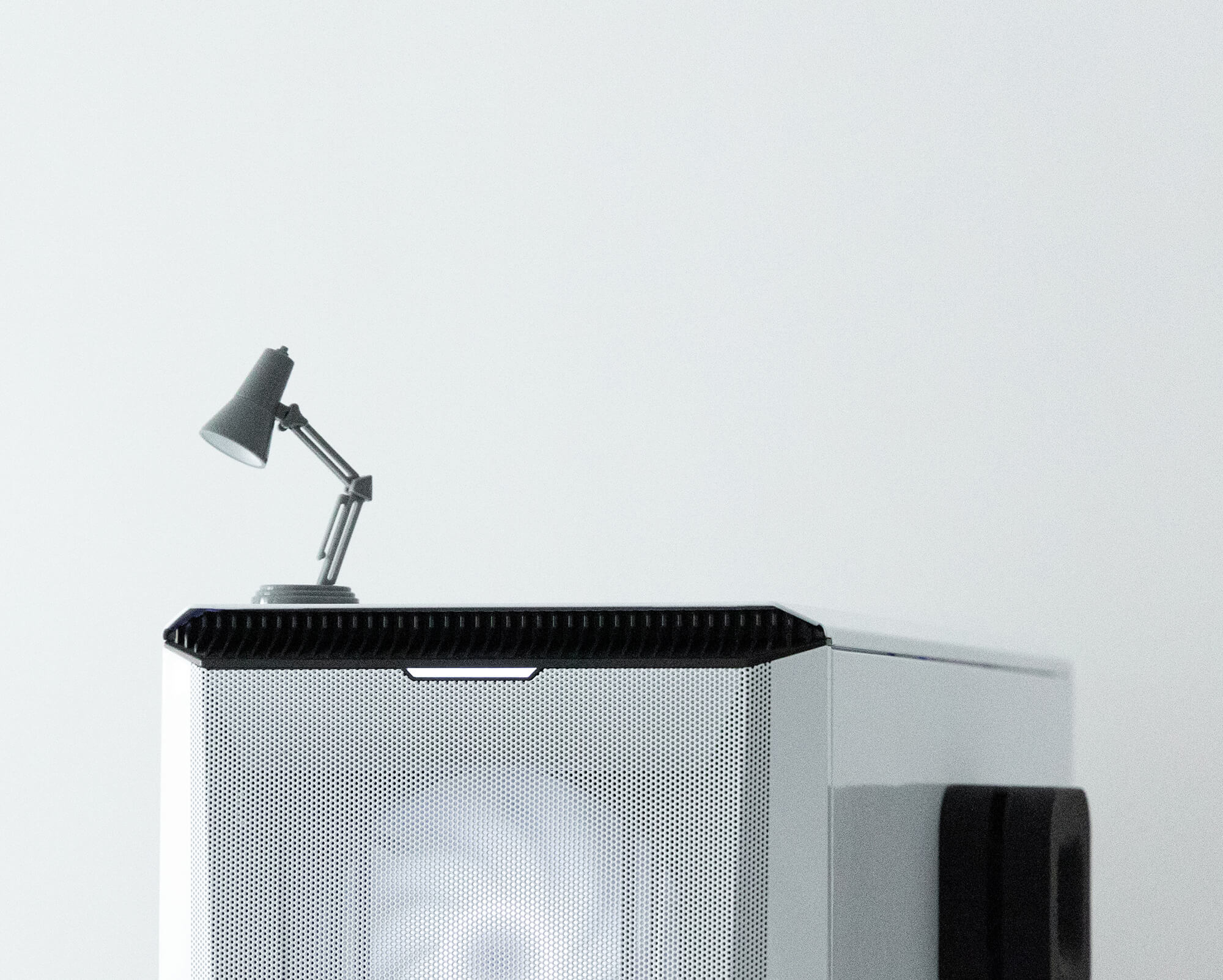 A semi-anthropomorphic desk lamp is the main mascot of Pixar Animation Studios. In 1986, the jumping lamp made its debut in the first Pixar's film titled Luxo Jr.