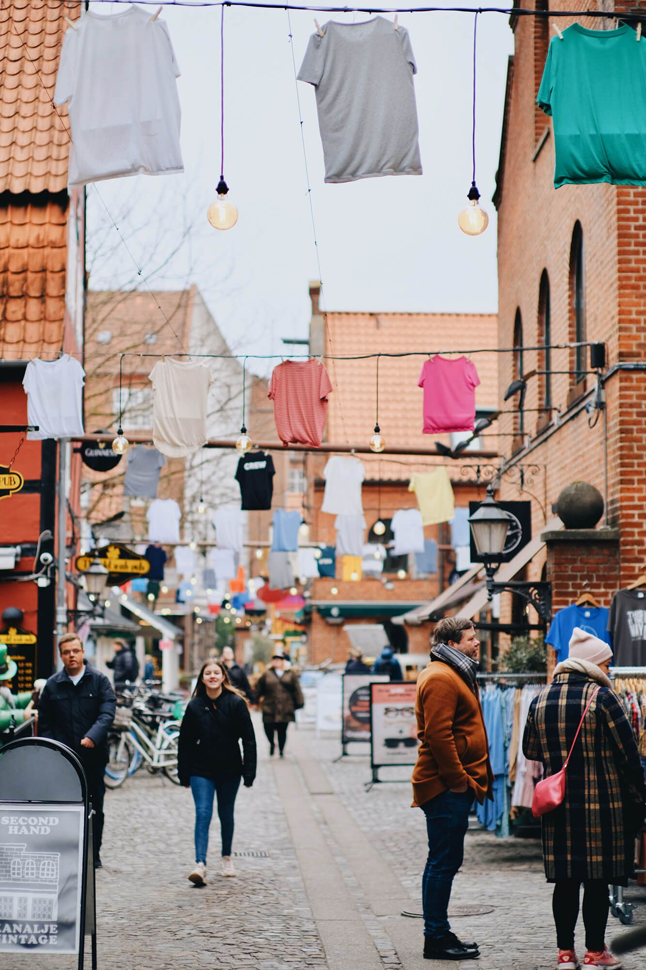 Lasse says that Odense is the embodiment of the word hygge. 'It's very cosy and relaxed, not as crowded or fast-paced as Copenhagen or Aarhus'