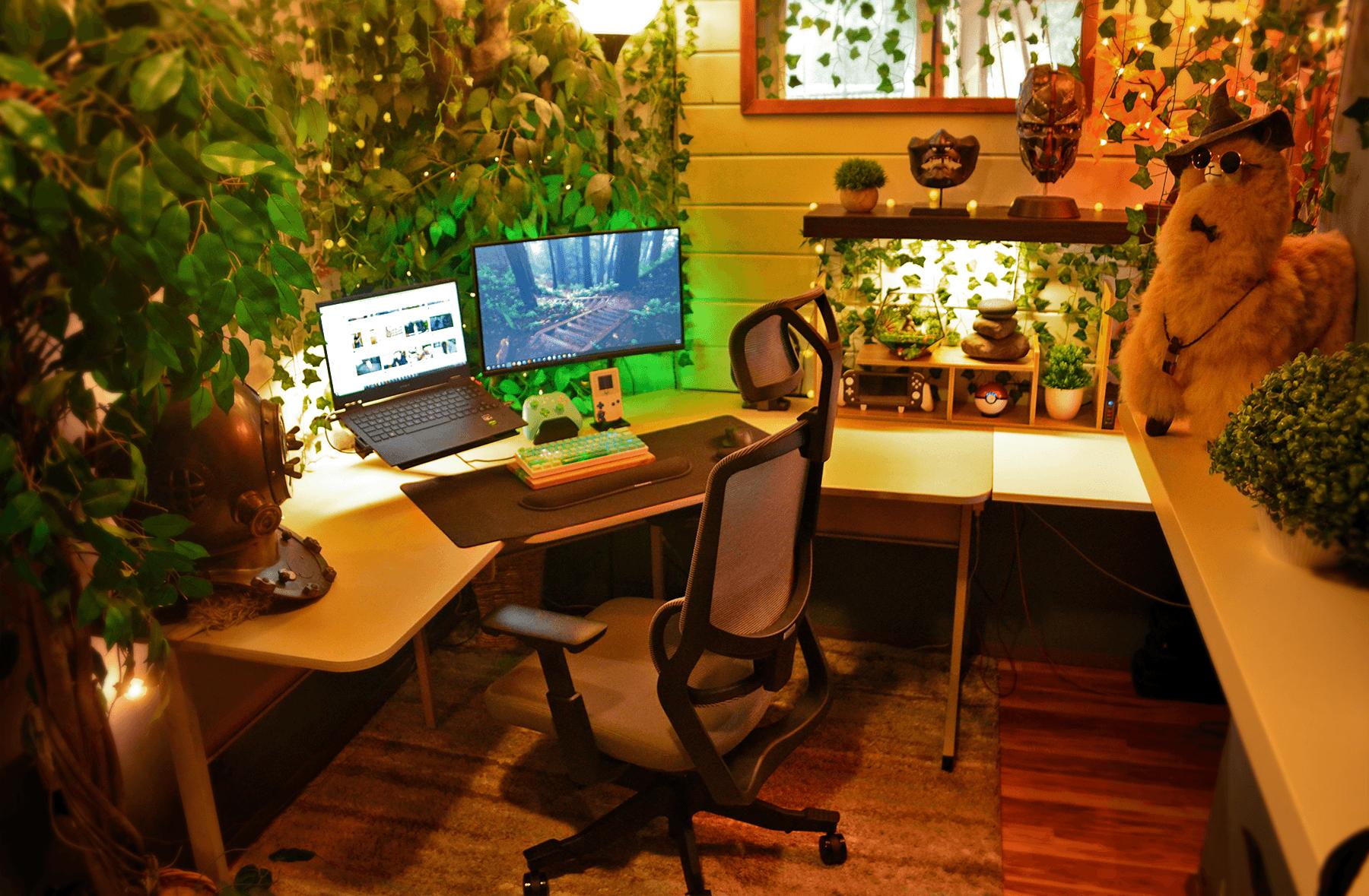 Zen gaming setup